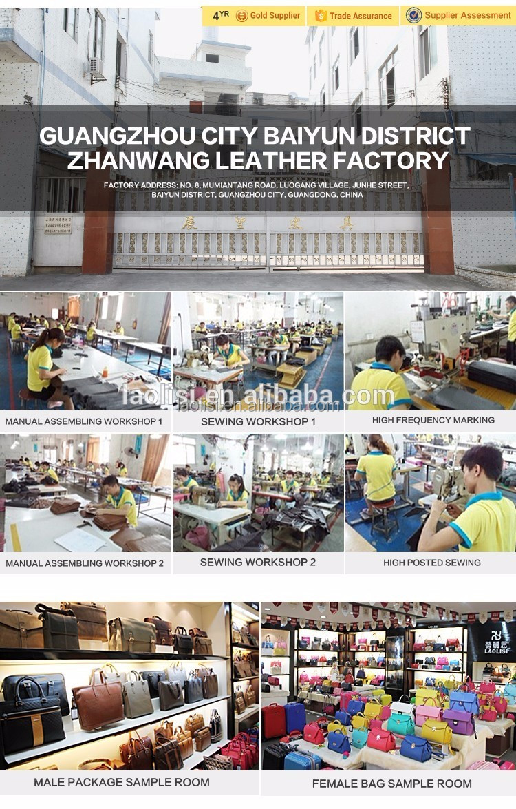 Newest design for leather men wallet factory directly sale