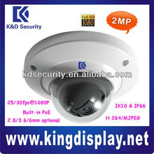 Outdoor DAHUA IPC-HDB3200C Mini 2.0 Megapixel Full HD IP Based Dome Camera