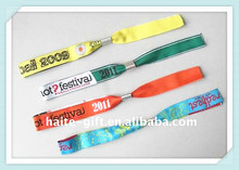 Promotion event woven wristbands