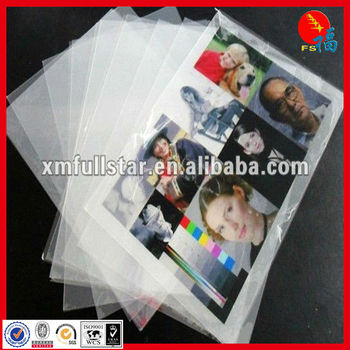 White PVC non-lamination for ink jet printablesheet