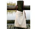 linen leather handbag shoulder bag manufacturer,fashion lady linen tote bag