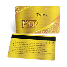 Customized design Hi-co or Low-co magnetic strip plastic PVC card