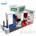 Detian Offer aluminum profile exhibition display 6x6 trade show stand booth