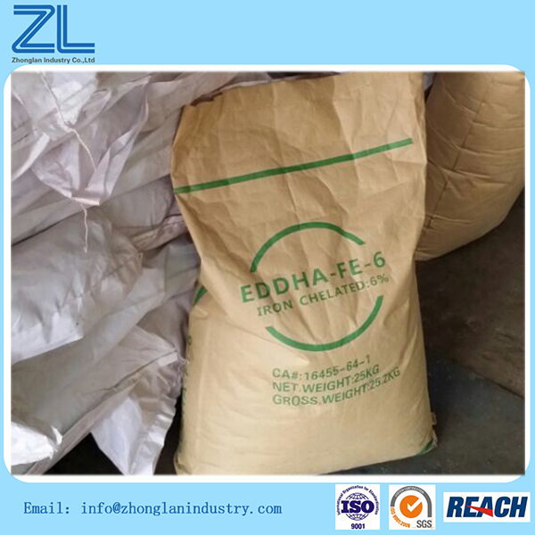 China chelate iron (EDDHA FE) for sale