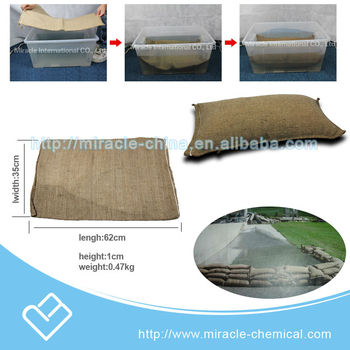 wholesale water absorbent instant sandbag MB0001