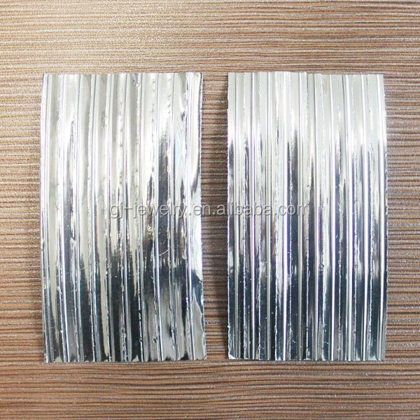 China supplier Silver/ Gold Wire Metallic Rows PET Twist tie