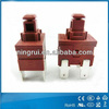 UL VDE approved main power Push Button Switch T125 55
