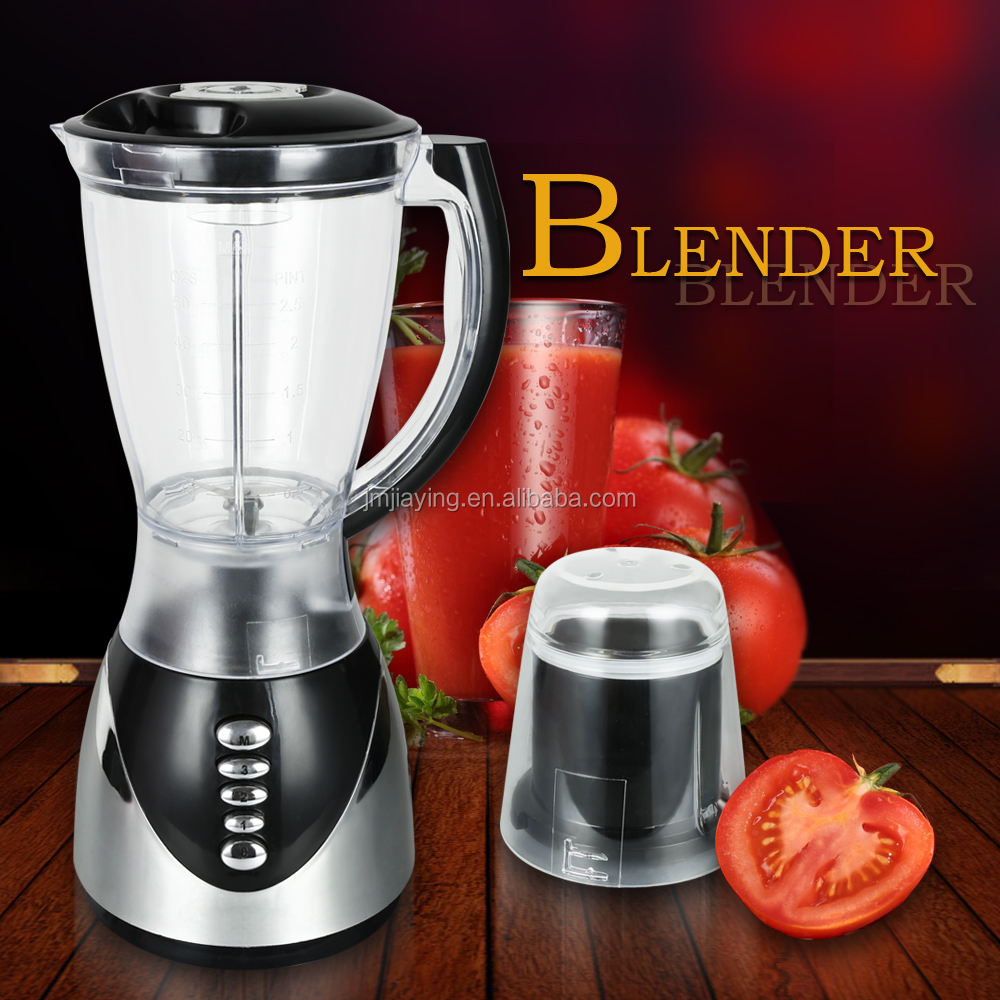 1.5L Glass Jar 3 Speeds Hot Sell High Quality 2 In 1 Juicer Blender