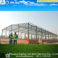 prefabricated steel frame prefab apartments/steel structure building/metal structure warehouse