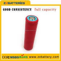 Good quality 2600mAh li-ion battery Full rechargeable battery Sanyo 18650 3.7V sanyo ur18650f battery
