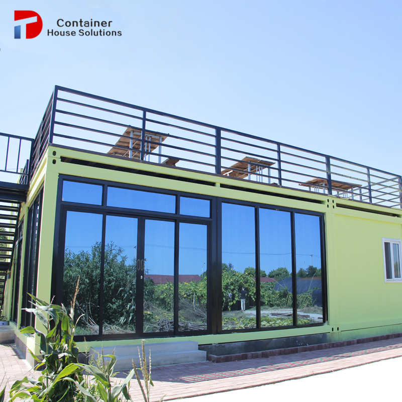 flat pack prefab container house/home/office luxury