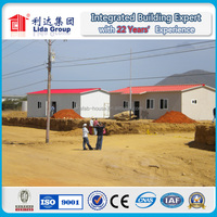 building site low cost steel frame office Guard Room House Colors