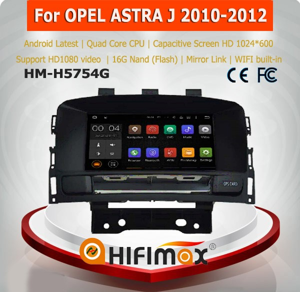 Hifimax Android 5.1 car dvd gps for opel astra j car navigation multimedia 2010-2012 with dvd gps auto radio
