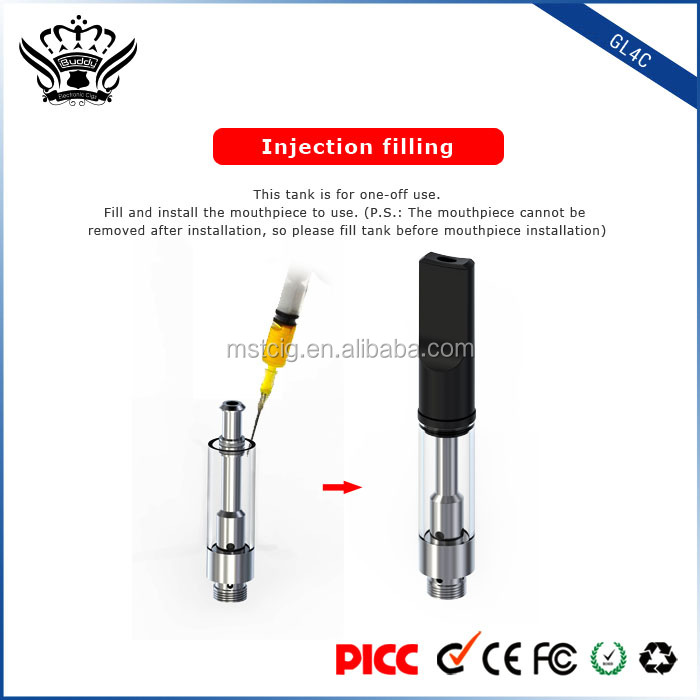 electric cigarette maker oil vaporizer cartridge empty