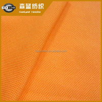 100 polyester knit fluorescent pique fabric for polo shirt