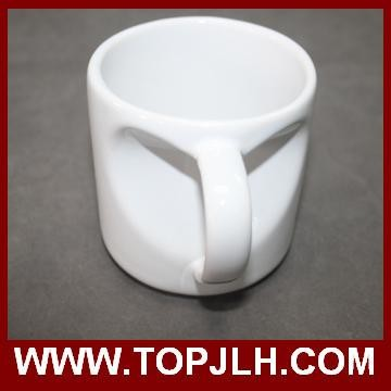 HOT wholesale sublimation coffee mug 10 oz White Mug