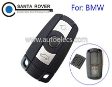 Wholesale Price Car Key Blank For B MW 1 3 5 6 7 Smart Remote Key Shell Case 3 Button With Battery Cover