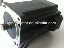110mm 200 vdc high torque brushless dc motor, rated 7Nm, 2050rpm, 1500w