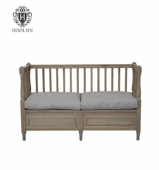 European Style Wooden Single Sofa Cum Bed Furniture