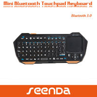 Black Mini Bluetooth Wireless Keyboard for android tablet pc/ipad mini
