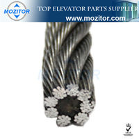 Steel wire rope | high quality Lift Parts 8*19S+FC | Sturdy stainless steel rope