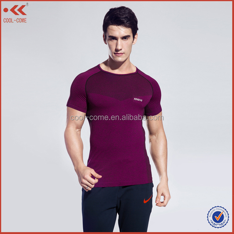 2016 wholesale sublimation quick dry fitness active men sportswear