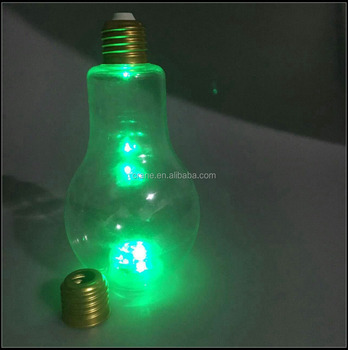 Cheap price 100ml pet bottle led light on bottom