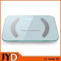 JYD-FIT01 New Tempered Glass Precision Digital Bluetooth Body Fat Scale, Body Composition Scale, Multi-function Scale