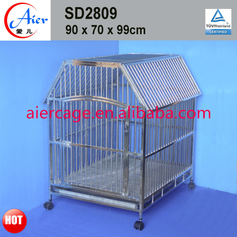 house design steel dog crate
