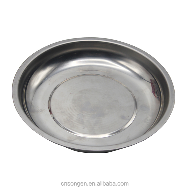 A-010 Professional Stainless Steel Tray Resists Corrosion Powerful Permanent Magnet Magnetic Parts Tray