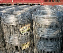 heavy galvanized high tensile hinge joint wire fence