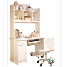 Korea Design Child Study Table And Chair Bookcase with Desk HA-A# bookcase with study table