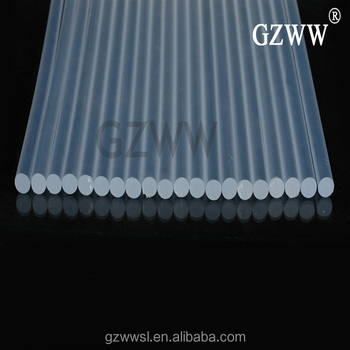 W116 clear white hot-melt glue sticks adhesivo