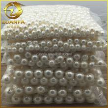 natural freshwater loose white pearl with hole