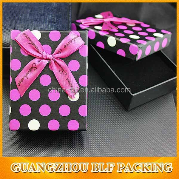 (BLF-GB2374)paper boxes for jewellery