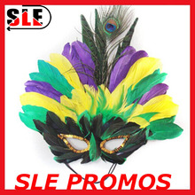 2015 Mardi Gras feather Masks Costume Party Masquerade mask