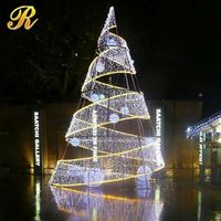 Outdoor waterproof solar power christmas tree