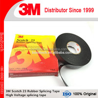 3M Scotch Rubber Splicing Tape 23 With Rubber Adhesive ,Black