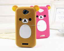 3D cute cartoon animal silicone soft back case cover for Samsung galaxy silicone case cover for Samsung Series