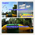 Hot Sale Inflatable jumping bag inflatable water blob inflatable water catapult blob