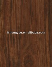 PVC Floor Covering Vinyl plank -Walnut Color,Waterproof PVC Plastic Flooring