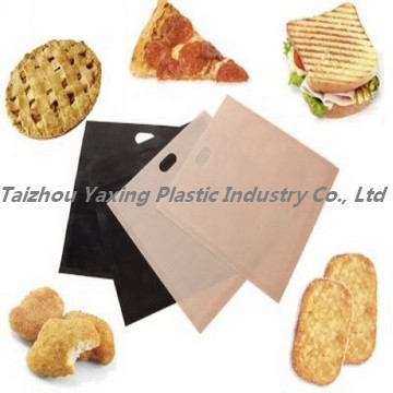 PTFE dishwasherable mini microwave oven bags