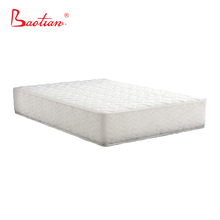5 stars hotel used comfortable double pocket coil high-end mattress