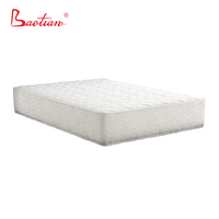 More comfort and suport double pocket coil mattress for 5 stars hotel