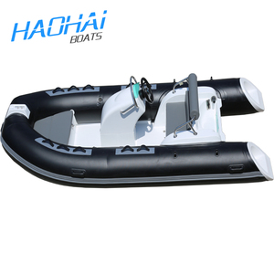 12.8ft 390cm Promotional cheap inflatable rib boat / Military inflatable boats china