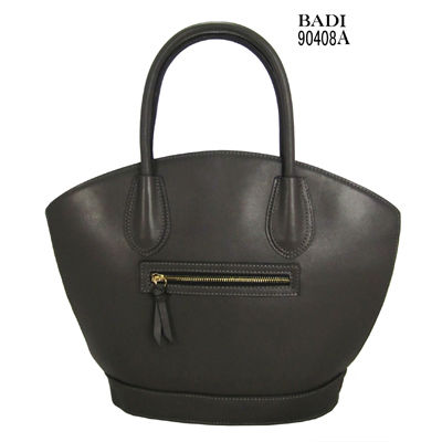 2013 high quality popular genuine leather lady handbag from thailand