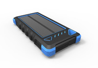 mobile power bank solar charger 5000mah phone battery pack