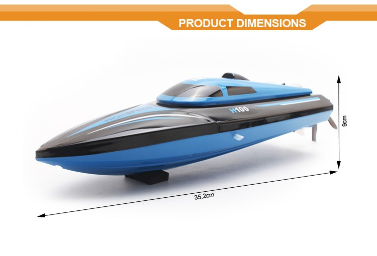 2.4G 4CH Water Cooling Brushless Speed Remote Control NQD RC Boat