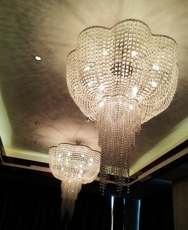 Zhongshan Factory Custom Banquet Hall Wedding Ballroom Large Crystal Chandeliers Lighting