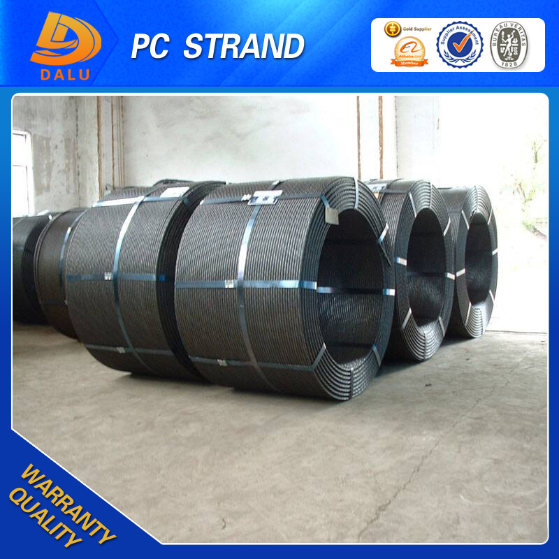 PC Strand 15.24 mm 1860 Mpa Post Tension Cable Wedge